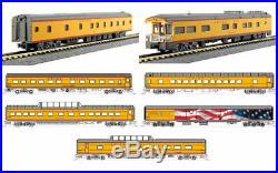 Kato N Scale Union Pacific 7 Passenger Car Excursion Train Set 106086