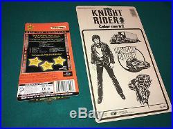 Kenner Knight Rider 2000 K. I. T. T. Voice CAR Turbo Booster Crash Set KEY HUGE LOT