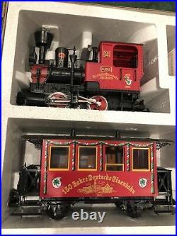 LGB (20150 Variant) 150 Yr. German Railroad Anniversary 3 Car Passenger Set 1985