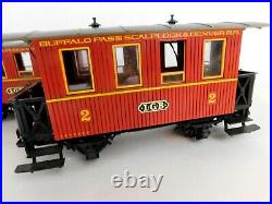 LGB Lehmann The Big Train Set 2020 with Passenger Cars & People Untested