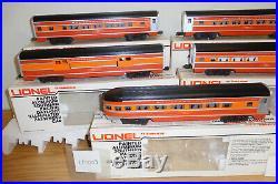 LIONEL 9589 to 9593 SOUTHERN PACIFIC 15'' ALUMINUM PASSENGER 5 CAR SET TRAIN SP