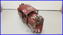 LIONEL STANDARD Ga. #40 ELECTRIC OUTLINE THREE CAR PASSENGER SET/OB circa 1919