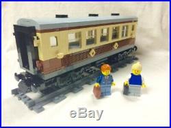 Lego Train City Creator Emerald Night Passenger Car READ 10219/10233/10194