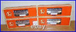 Lionel 19154 Atlantic Coast Line 15'' Aluminum Passenger 4 Car Set Train O Scale