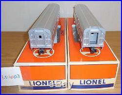 Lionel #19180 Santa Fe Surfliner 15'' Aluminum Passenger 4 Car Set Train O Scale