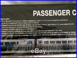 Lionel 2002 Amtrak Acela Passenger 3 Car Set #15584 MINT