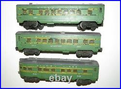 Lionel 2400 2401 2402 Passenger Cars Set Maplewood Hillside Chatham NO RESERVE