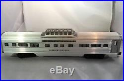 Lionel 2530,2531,2532,2534 4 Car Aluminum Passenger Set With boxes and liners NICE