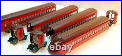Lionel- 51201- Rail Chief 4 Car Passenger Set For 700e Hudson New B1