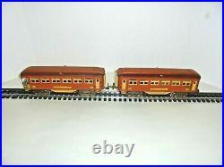 Lionel 613,614 Prewar Passenger Set O Gauge Vintage 1934