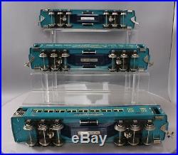 Lionel 6-13408 Standard Gauge 3-Car Tinplate Blue Comet Passenger Set EX