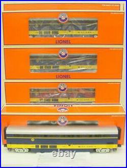 Lionel 6-15395 Alaska Superliner Passenger 4-Car Set EX/Box