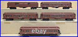 Lionel 6-19011/15/16/17/18 Lionel Lines 5-Car Madison Passenger Set O-Gauge LN