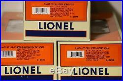Lionel #6-21786 Santa Fe ABBA F3 Diesel Anniversary 7-Car Passenger Set
