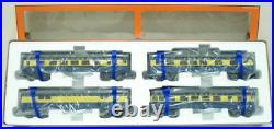 Lionel 6-29041 Alaska Streamline 4-Car Passenger Set LN/Box