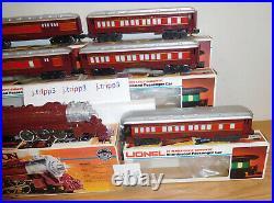 Lionel 6-8101 Chicago & Alton Hudson Locomotive Passenger Cars O Gauge Train Set