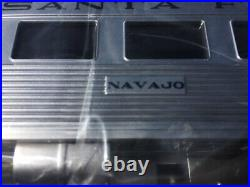 Lionel 6-84719 Santa Fe Sf Passenger 3 Car Set Train O Gauge, Super Chief