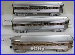 Lionel 6-84719 Santa Fe Sf Passenger 3 Car Set Train O Gauge Super Chief Lighted