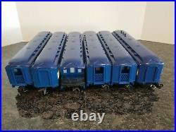 Lionel 6-8801 Blue Comet 4-6-4 Steam Locomotive Set W / 6 Passenger Cars 9563-40