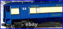 Lionel 6-8801 Blue Comet 4-6-4 Steam Locomotive With 5-Car Passenger Set Complete