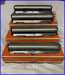 Lionel Aluminum Delaware & Hudson 4 Car Streamlined Passenger Set 6-15313! D&h