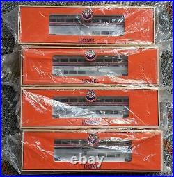 Lionel Amtrak Superliner Hi-Level 4 Coach Car Passenger Set 6-39124