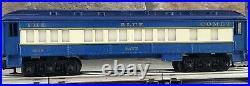 Lionel Blue Comet Train Set Engine #8801 with 6 passenger cars C8