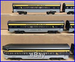 Lionel C&O/Chesapeake & Ohio 6-Car Aluminum Passenger Set O Gauge NOS
