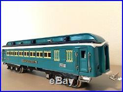 Lionel Classics 6-13408 Blue Comet Passenger Car Set (C9)