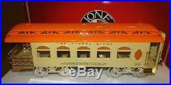 Lionel Classics 6-13412 Standard Gauge 3-car Tinplate Passenger Car Set Lnb