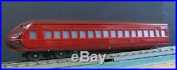 Lionel Classics O Tinplate Reproduction Rail Chief 4 passenger Car Set 6-51201
