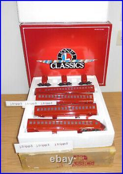 Lionel Classics Tinplate #51201 Railchief O Gauge Passenger 4-car Set Streamline