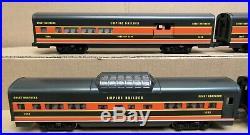 Lionel Great Northern 5-Car Aluminum Passenger Set O Gauge LNOS