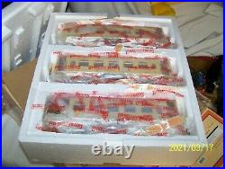 Lionel Mth 11-40057 Tinplate Standard Gauge 3 Car Pullman Passenger Set Nos