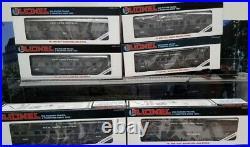 Lionel New York Central 6 Car Passenger Set 16016 16017 16018 16019 16020 16021