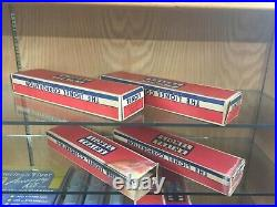Lionel O Gauge Canadian Pacific Set 2551, 2552, 2553, 2554 Passenger Cars MINT