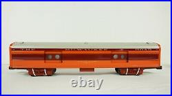 Lionel O Milwaukee Road 4 Car Passenger Set Station Sounds 6-39105 6-19185 NEW