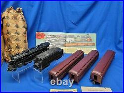 Lionel Postwar 2146WS Steam Engine Passenger 3 Car Set With Boxes 726 Engine