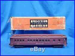 Lionel Postwar 2146WS Steam Locomotive Passenger Car Set With Boxes