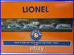 Lionel Pratt's Hollow Passenger Car Set O Gauge 6-36002 New In Box