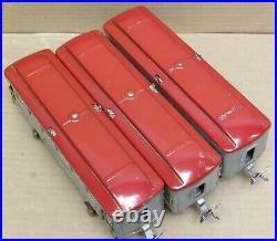 Lionel Prewar 601/602/600 Gray Tinplate Passenger 3-Car Set O-Gauge