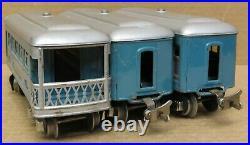 Lionel Prewar 609/609/611 3-Car Passenger Set O-Gauge
