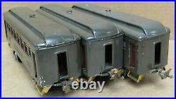 Lionel Prewar No. 605/605/606 3-Car Passenger Set Tinplate O-Gauge