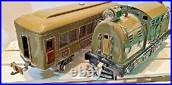 Lionel Prewar Train Set 254 Locomotive 610 610 612 Passenger Cars Prof. Restored