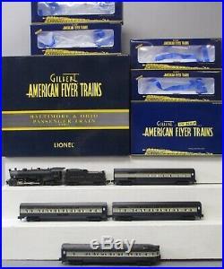 Lionel S Gauge Baltimore Ohio 2-8-2 Loco Tender And 4 Car Passenger Set 6-49612