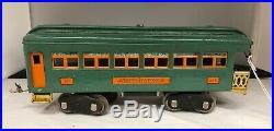 Lionel Standard Gauge # 10E Engine And Passenger Set Cars 332, 339 & 341