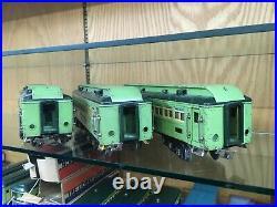 Lionel Standard Gauge 424, 425, 426 Passenger Car Set VG