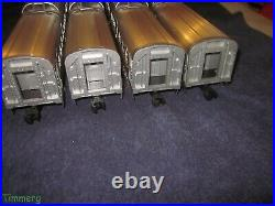 Lionel Trains 6-29134 Western Pacific W. P. 4 Car Aluminum Passenger Set MIB