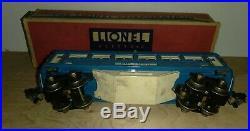 Lionel Vintage O Prewar Blue Comet Passenger Cars 2613, 2614, 2615 Nice Set