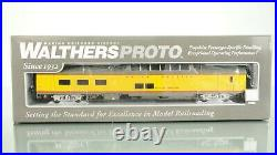 Lot of 9 Walthers Proto Union Pacific LIGHTED Passenger car set HO scale